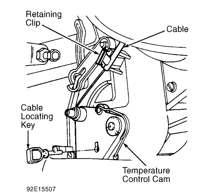 1995 Mercury Tracer Installing Heater Controls: There Is