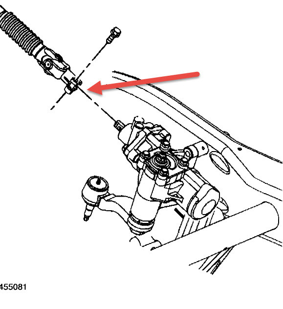 How to Remove Steering Gear Box Form Shaft