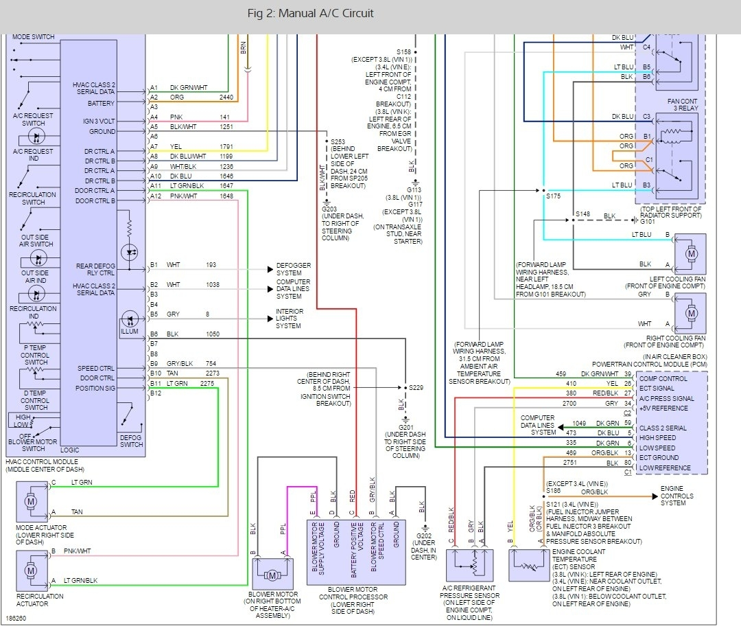 For An Ac Heater Wiring Diagram Blower Motor Not Working Electrical Problem 6 Cyl Two