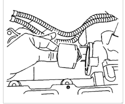 Thermostat Location: Engine Cooling Problem 4 Cyl Front