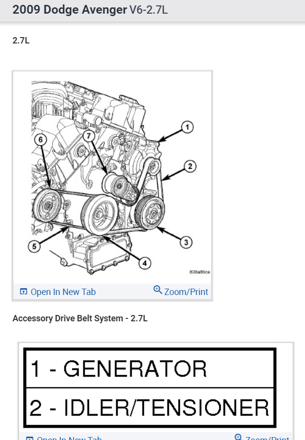 2012 Dodge Avenger 2.4 Serpentine Belt Diagram : dodge, avenger, serpentine, diagram, Serpentine, Installation, Routing?: