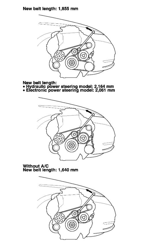 2009 Ford Focus Serpentine Belt Diagram : focus, serpentine, diagram, Serpentine, Diagram:, Diagram