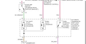Wire Diagram for Shift Lock Solenoid: Hello How Are You Doing?