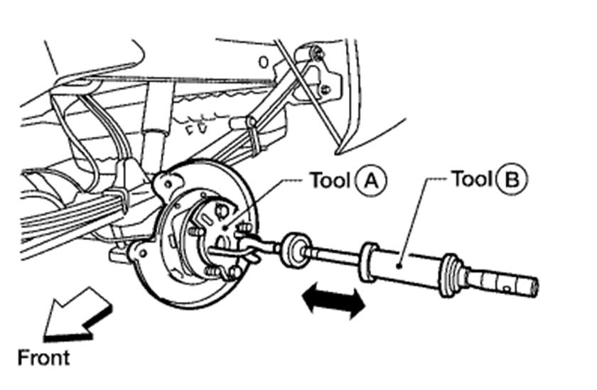 05 Xterra: I Will Like to Know How Replace Rear Bearing of