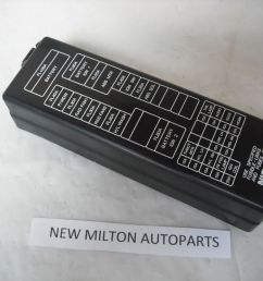 nissan primera p12 engine bay fuse box cover lid [ 1911 x 1433 Pixel ]