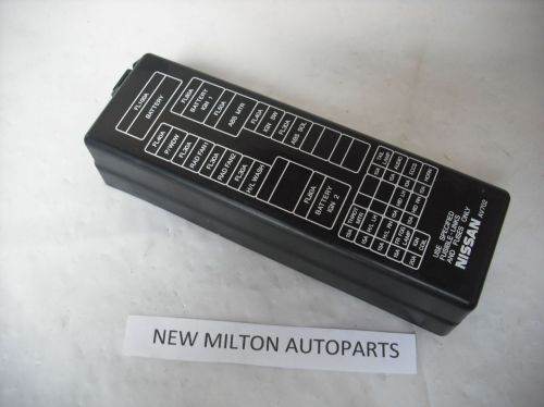 small resolution of nissan primera p12 engine bay fuse box cover lid