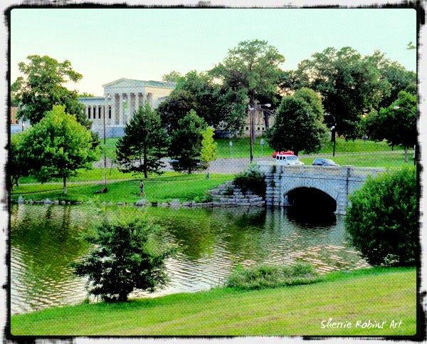 Delaware Park Olmsted Buffalo Paradise 2chicks2go