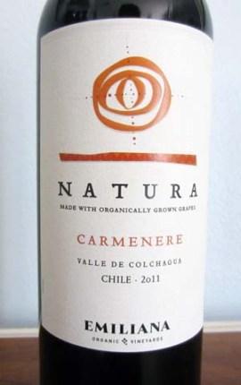 2011 Natura Carmenere