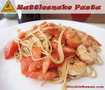 Rattlesnake Pasta | 2CookinMamas