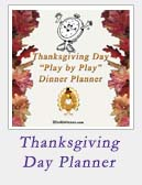 Thanksgiving Day Planner