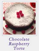 Chocolate Raspberry Torte | 2CookinMamas