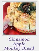 Cinnamon Apple Monkey Bread | 2 Cookin Mamas