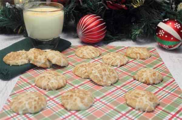 Eggnog Cookies 8 | 2 Cookin Mamas