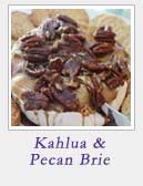 Kahlua and Pecan Brie