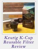 Keurig K Cup Reusable Filter Review|2CookinMamas