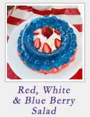 Red White and Blue Berry Salad