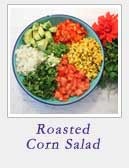 Roasted Corn Salad | 2 Cookin Mamas