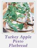 Turkey Apple Pesto Flatbread
