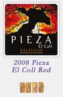 2008 Pieza El Coll Red