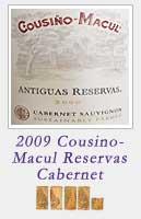 2009 Cousino Macul Antiquas Reservas Cabernet