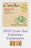2010 Cono Sur Cabernet Carmenere