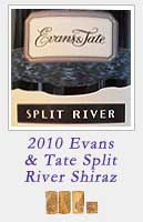 2010 Evans and Tate Split River Shiraz