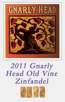 2011 Gnarly Head Old Vine Zinfandel