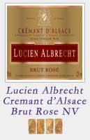 Lucien Albrecht Cremant dAlsace Brut Rose NV
