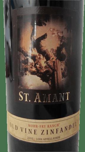 2010 St Amant Zinfandel