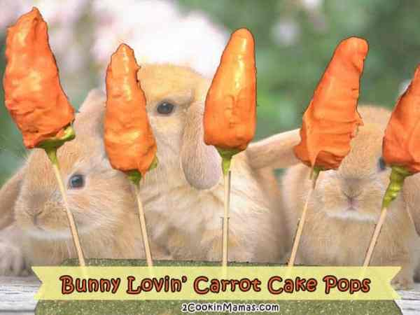 Carrot Cake Pops | 2 Cookin Mamas