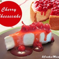 Cherry Cheesecake | 2CookinMamas