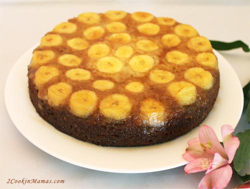 Banana Upside Down Cake 2