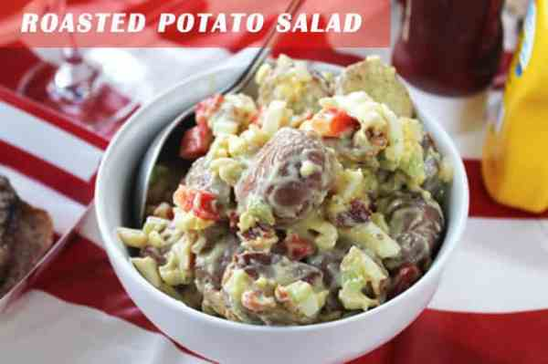 Roasted Potato Salad | 2 Cookin Mamas
