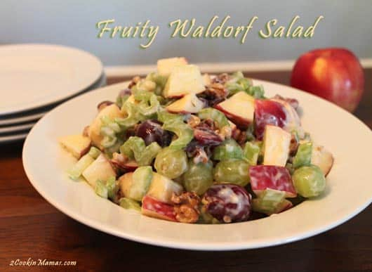 Fruity Waldorf Salad | 2CookinMamas