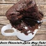 Quick & Easy Chocolate Lava Mug Cakes