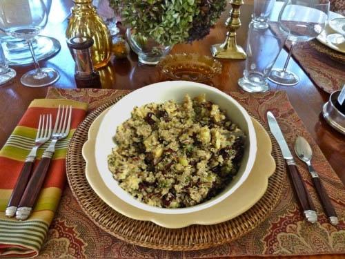 Quinoa Stuffing main | 2CookinMamas