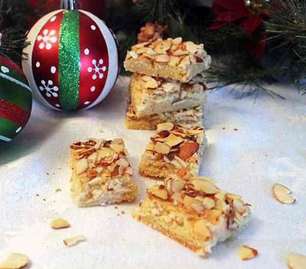 Almond Bar Cookies 5 | 2 Cookin Mamas