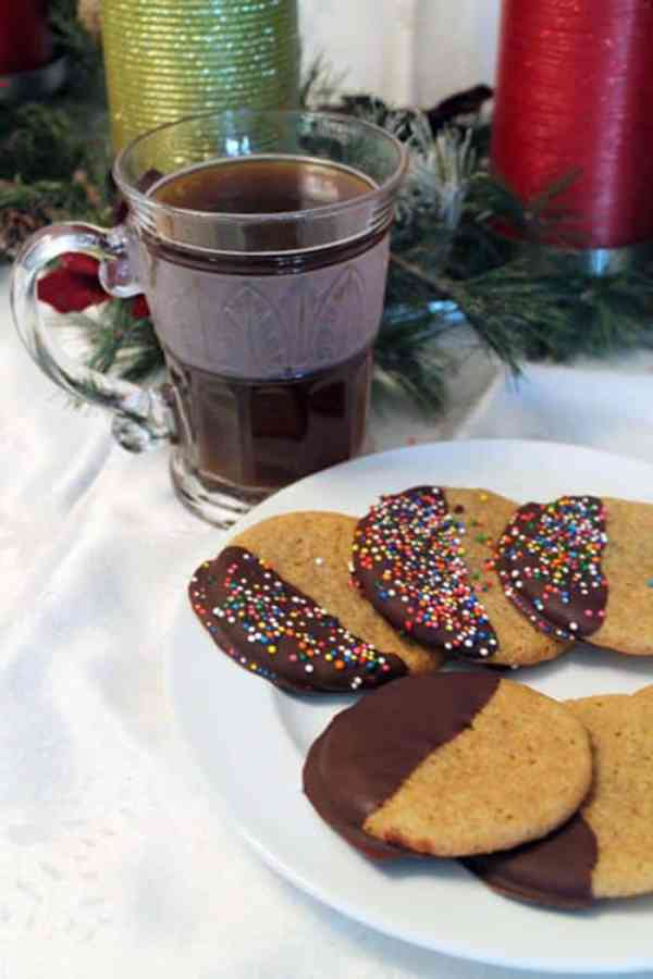 Creme Brulee Cookies with coffee | 2 Cookin Mamas