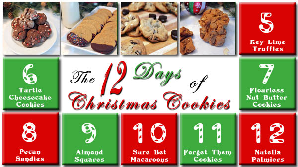 The 12 Days of Christmas Cookies Day 4 | 2CookinMamas
