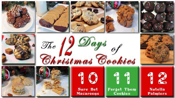 The 12 Days of Christmas Cookies Day 9 | 2CookinMamas