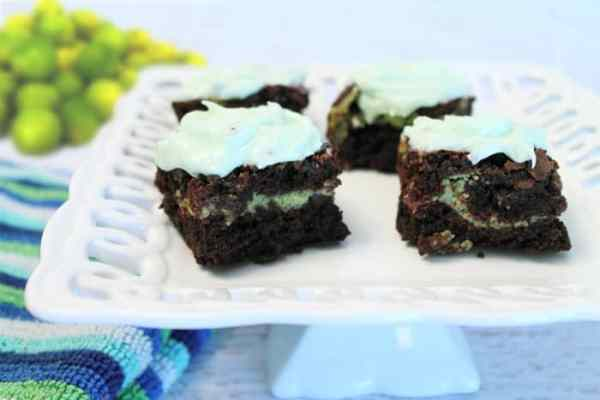 Key Lime Brownies 1 | 2 Cookin Mamas