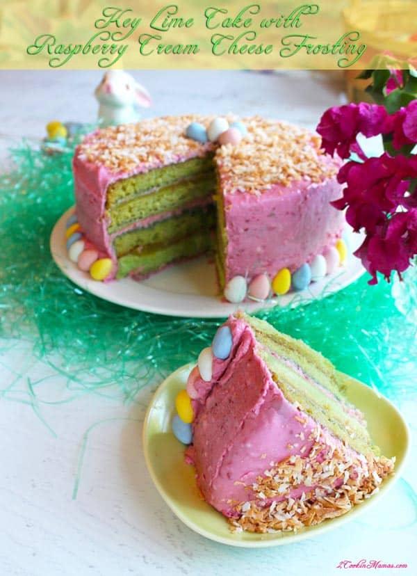 Key Lime Cake main | 2CookinMamas