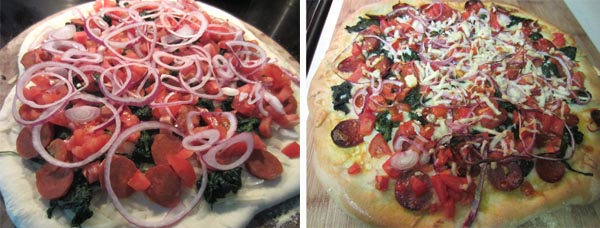 Manchego Cheese and Chorizo Pizza 2