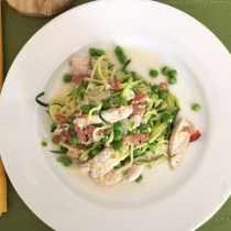 Zucchini Carbonara 1|2CookinMamas