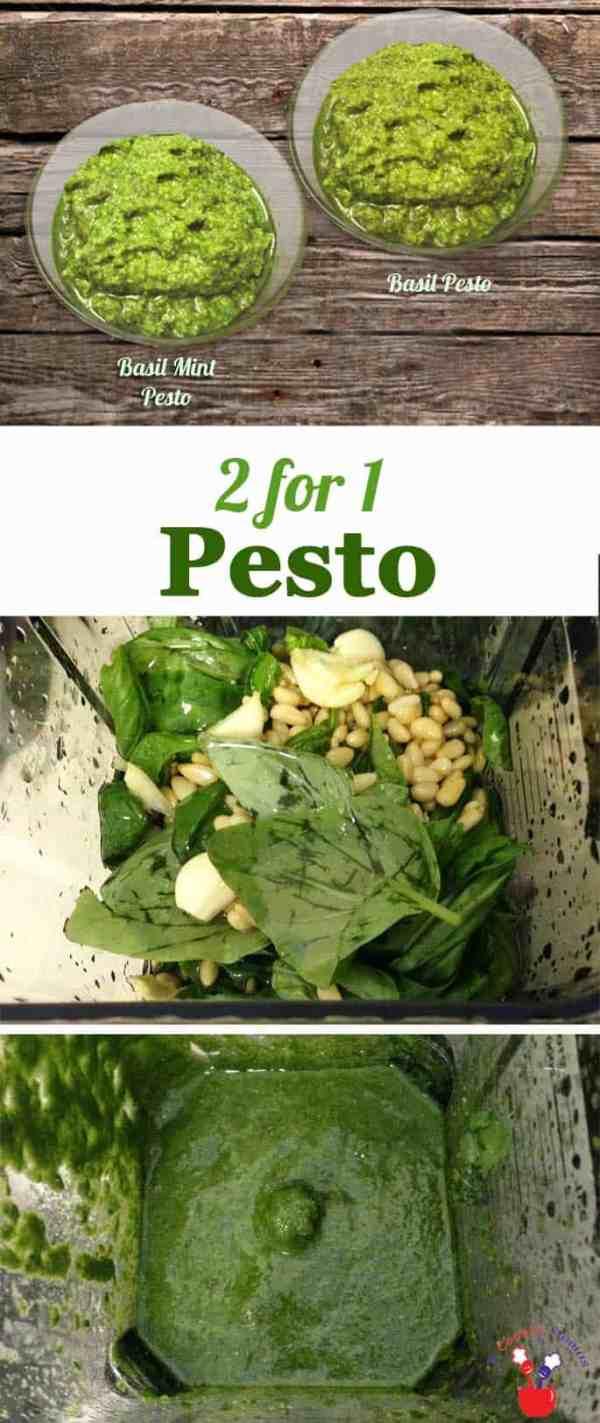 Basil and Mint-Pesto | 2 Cookin Mamas
