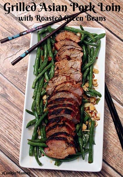 Sweet Grilled Asian Pork Loin | 2CookinMamas