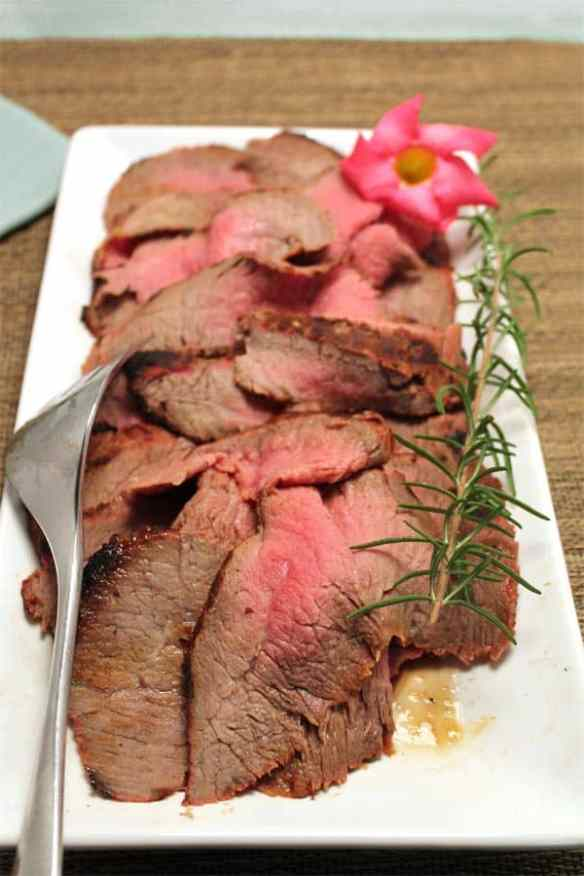 London Broil plated 1   2CookinMamas The secret to grilling the best and most tender London broil you've ever had!