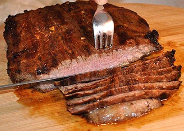 London Broil slicing 2 | 2CookinMamas
