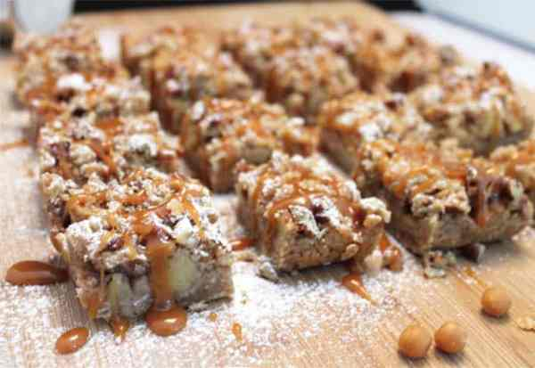 Caramel Apple Bars 640x440|2CookinMamas