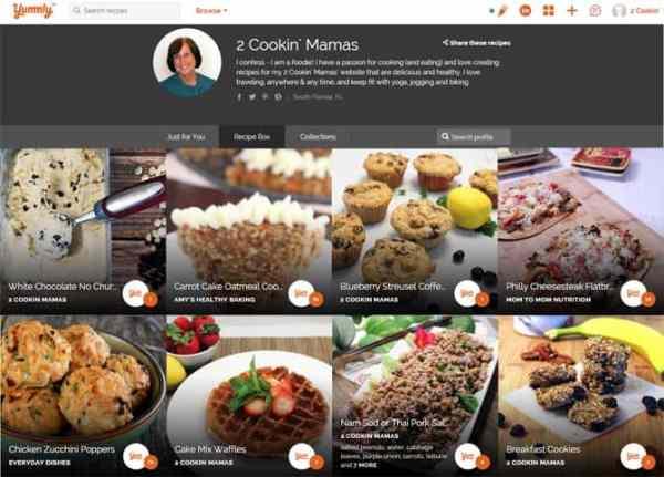 2 Cookin Mamas Yummly Page